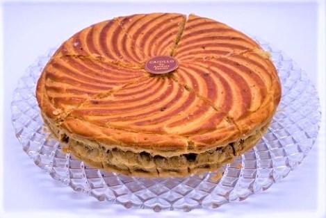 エコール・クリオロ ガレット・デ・ロワ 新年を祝うパイケーキ 2020-2021 お正月 france-traditional-new-years-western-confectionery-galette-des-rois-ecolecriollo-2020-2021