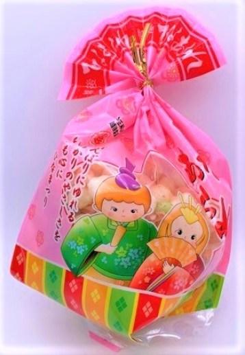 越後製菓 ひなあられ E-22 ピンク色の袋 懐かしいお菓子 2021 japanese-nostalgia-snacks-echigoseika-hina-arare-sweet-rice-crackers-2021