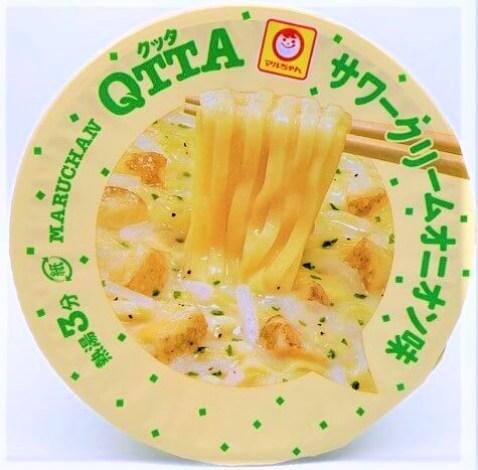 東洋水産 マルちゃん クッタ サワークリームオニオン味 カップ麺 2021 japanese-instant-noodles-toyo-suisan-maruchan-qtta-sour-cream-and-onion-2021