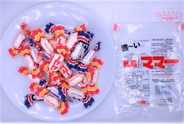 オークラ製菓 濃い乳菓 ママー 袋 お菓子 2021 japanese-snacks-ohkuraseika-milk-candy-2021