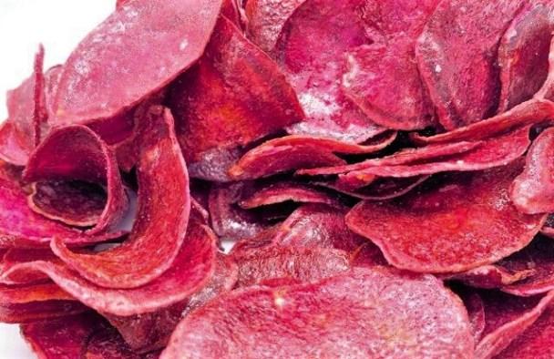 エコライフコーポレーション えい紫の紫芋チップス 国内産 大袋 青果売り場 お菓子 2021 japanese-snacks-ecolife-corp-ei-murasakino-purple-sweet-potato-chips-2021