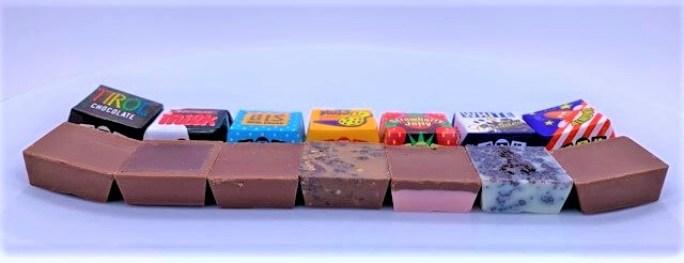 チロルチョコ バラエティパック 横型 袋 懐かしいお菓子 2021 japanese-nostalgia-snacks-tirol-choco-variety-pack-chocolate-2021