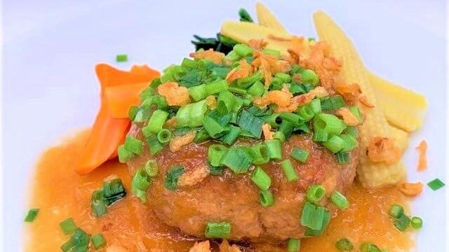 味の素 フレック 洋食亭のハンバーグ おろしソース入り パック 小袋 冷凍食品 2021 japanese-frozen-food-ajinomoto-furekku-yoshoku-tei-hamburg-steak-grated-daikon-sauce-2021