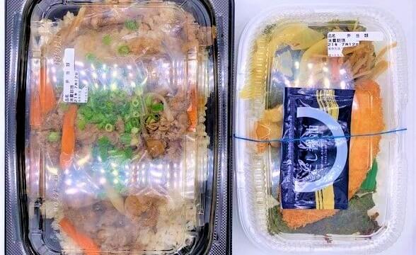 ほっともっと ファミリー焼肉ガーリックライス テイクアウト 大盛お弁当 2021 japanese-fast-food-hottomotto-yakiniku-grilled-beef-and-garlic-rice-bento-family-size-lunch-box-2021-to-go