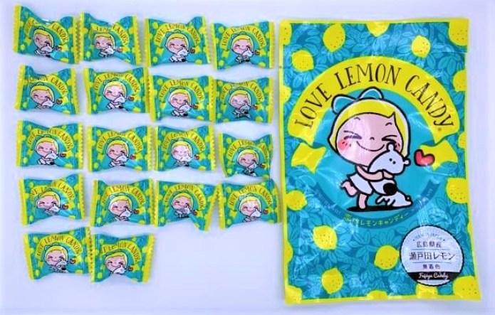 冨士屋製菓 恋するレモンキャンディー レモン&シュガー コラボ 袋 お菓子 2021 japanese-candy-fujiya-seika-love-lemon-candy-2021