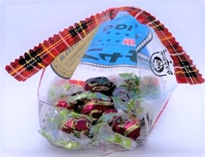 サクマ製菓 チャオ 復刻版 チョコレート キャンディ 袋 懐かしいお菓子 2021 japanese-nostalgia-candy-sakumaseika-ciao-combination-of-chocolate-and-candy-2021