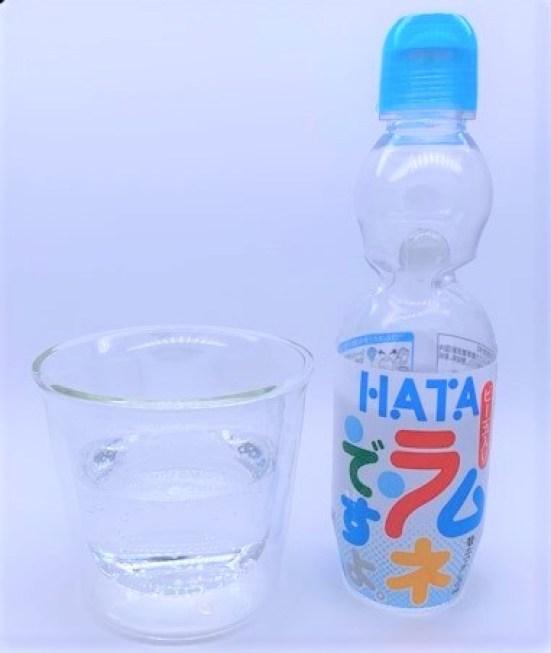 ハタ鉱泉 ラムネですよ ビー玉入り ペットボトル 懐かしい飲み物 2021 japanese-nostalgia-drink-hata-kosen-ramune-desuyo-plastic-bottle-2021