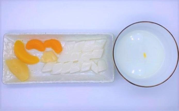 はごろもフーズ 朝からフルーツ杏仁 デザート 缶詰 防災備蓄品 食料 2021 japanese-canned-food-hagoromofoods-asakara-fruit-kyonin-apricot-kernel-dessert-2021