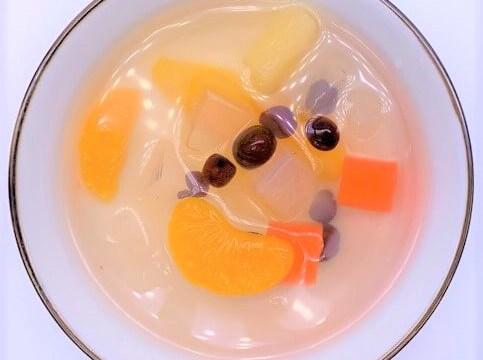はごろもフーズ 朝からフルーツみつ豆 デザート 缶詰 2021 防災備蓄品 食料 japanese-canned-food-hagoromofoods-asakara-fruit-mitsumame-dessert-2021