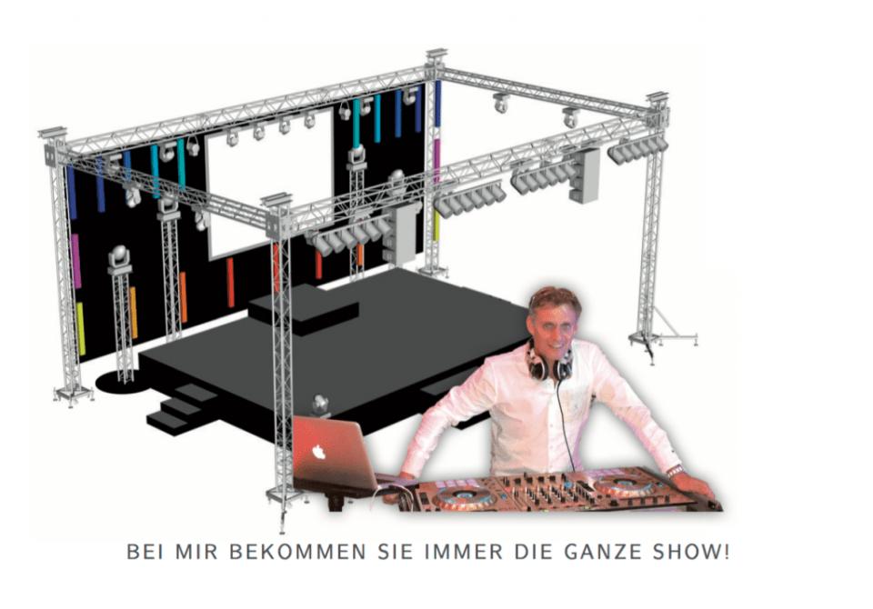 Veranstaltungstechnik DJ Frankie b. - ShowAgenten Entertainment GmbH