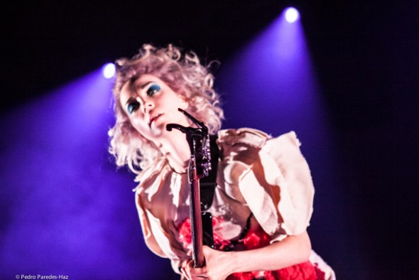 St. Vincent at Fox Theater Oakland // Photo by