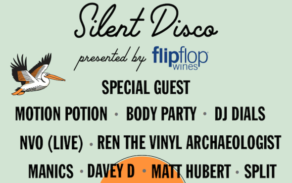 Treasure Island Music Festival 2016 - Silent Disco lineup
