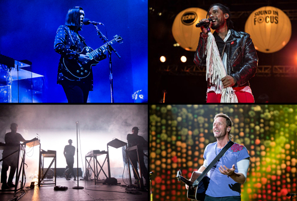 Best live shows of 2017 - The xx, Miguel, Moderat & Coldplay