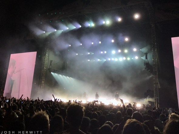 Nine Inch Nails at FYF Fest 2017