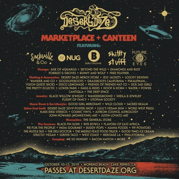 Desert Daze 2019 - The Marketplace