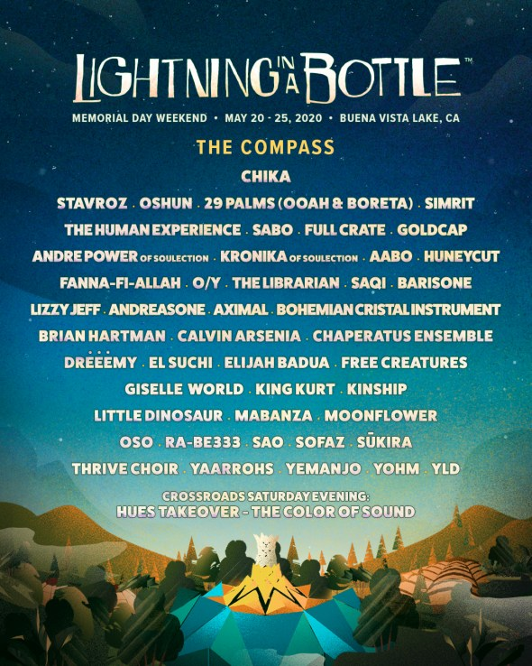 Lightning in a Bottle 2020 - The Compass