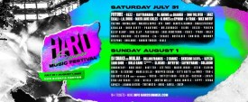 HARD Summer Music Festival - 2021 lineup