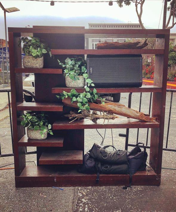 Public Works - decorative shelf