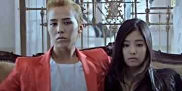 BigBang's G-Dragon and Blackpink's Jennie