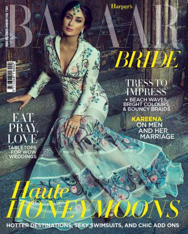Cover - HARPER'S BAZAAR BRIDE - December-January Combined Issue