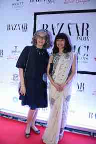 Archana Jain and Harper's Bazaar editor Nonita Kalra
