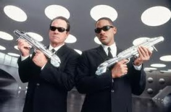 First stills on the set of 'Men In Black 3'!