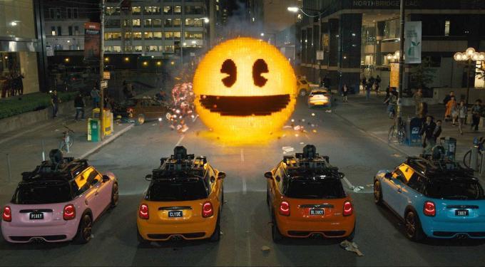 Pixels (Movie Review)