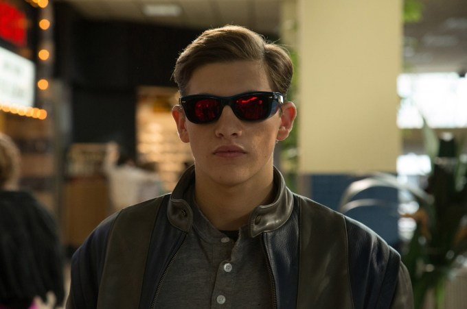Tye Sheridan is Scott Summers/Cyclops in X-MEN: APOCALYPSE.