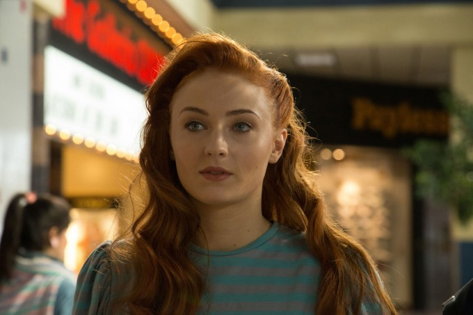 Sophie Turner is Jean Grey in X-MEN: APOCALYPSE.