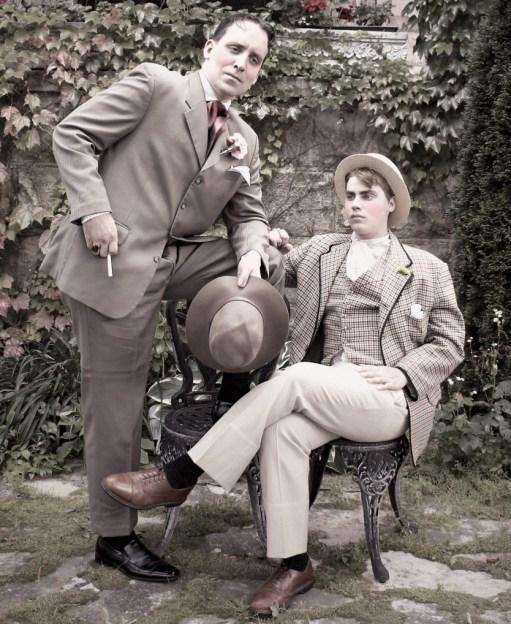 Ben & Jack - hand tinted
