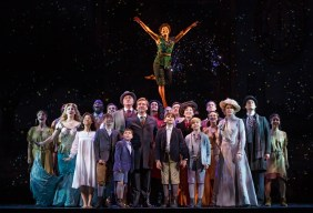 The Cast of The National Tour of Finding Neverland Credit Carol Rosegg