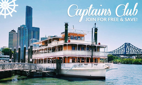 Captains Club Brisbane, Showboat cruises
