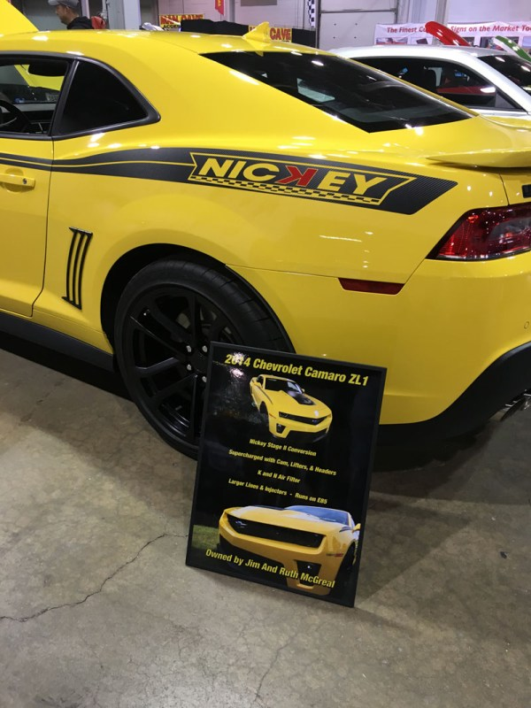 Muscle Car & Corvette Nationals Displays - Show Signs