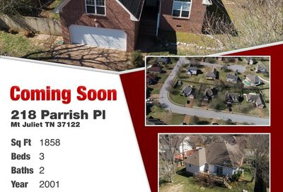 218 Parrish Pl Mount Juliet TN 37122