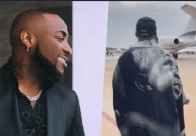 """Country don choke"" – Davido says as he jets out of Nigeria for US (Video)"