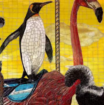 Custom Commissioned Public Art Mosaic Murals For Hospitals, Healthcare & Medical Facilities