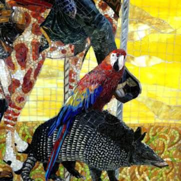 Custom Commissioned Public Art Mosaic Murals For Hospitals, Healthcare & Medical