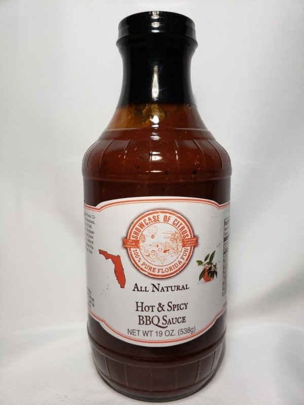 Hot and Spicy BBQ Sauce