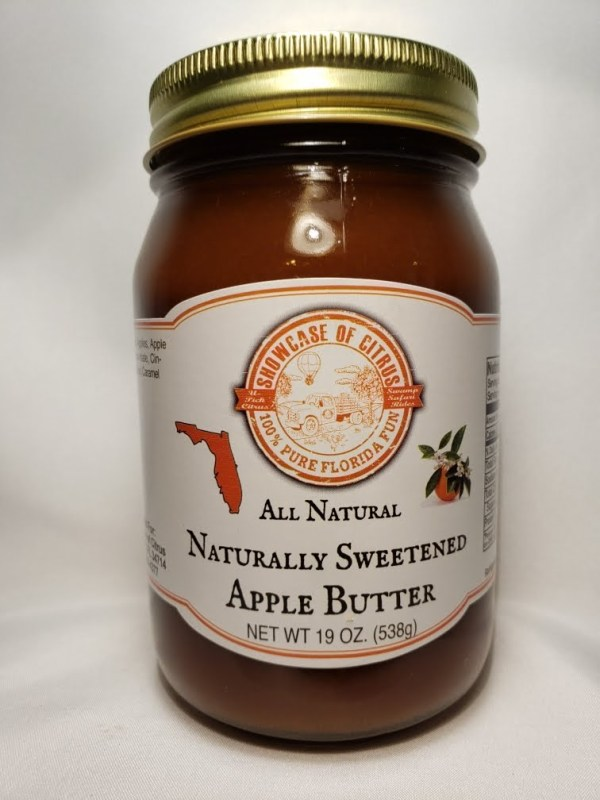 Naturally Sweetened Apple Butter