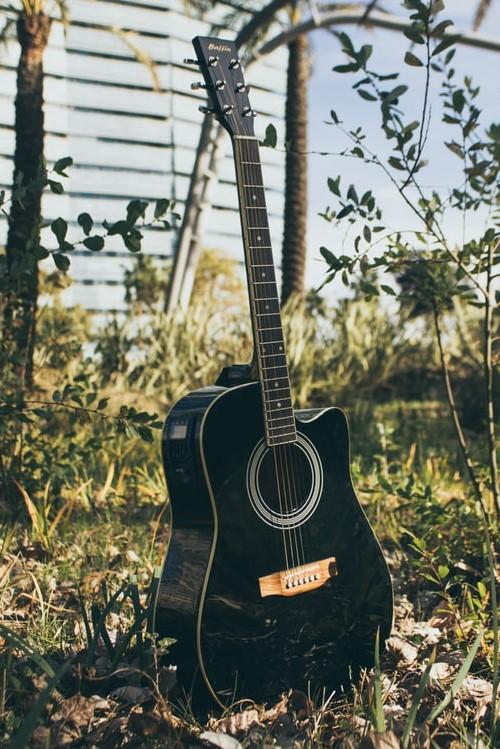 Guitar Outside