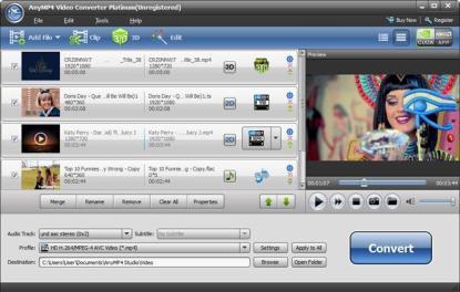 AnyMP4 Video Converter Ultimate 8.2.12 Crack + Registration Code Free