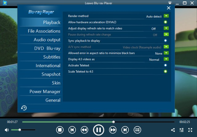 Leawo Blu-ray Player 2.2.0.1 Crack + Activation Code Free