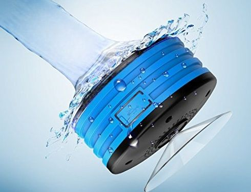 Auto Tech Waterproof Bluetooth Shower Speaker