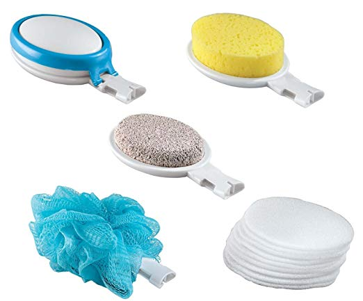 EasyComforts 15 Piece Interchangeable Bath Sponges