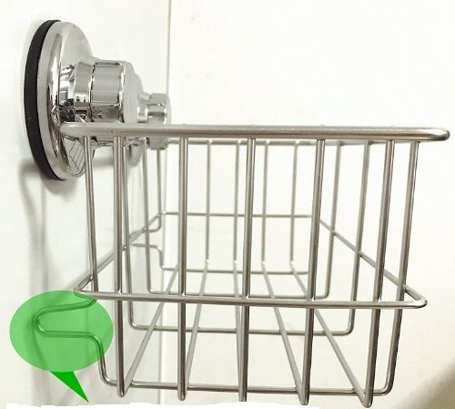 iPEGTOP Suction Cup Deep Shower Caddy