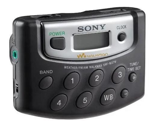 Sony SRF M37W Walkman Digital Weather