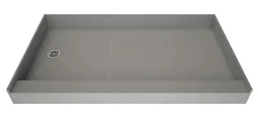 Redi Base Single Curb Shower Pan