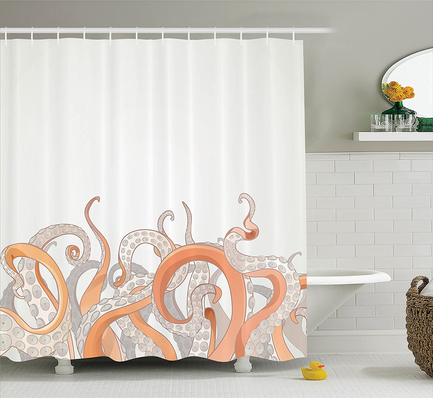 Pirate Shower Curtain Ideas For The Bathroom