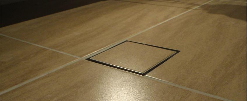 Square Drain TileInsert  Shower Grate Shop Inc