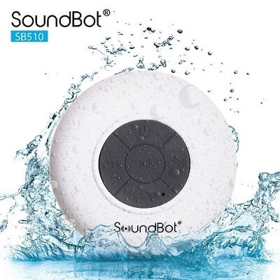 SoundBot SB510 shower speaker